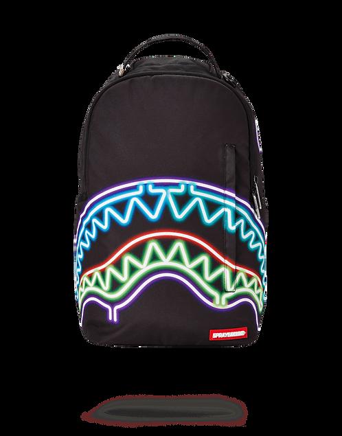 Sprayground Neon Shark Backpack