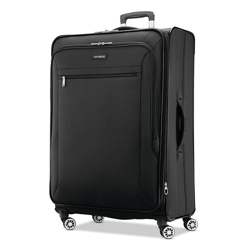 Samsonite Ascella X Medium Checked Expandable Luggage with Dual Spinner