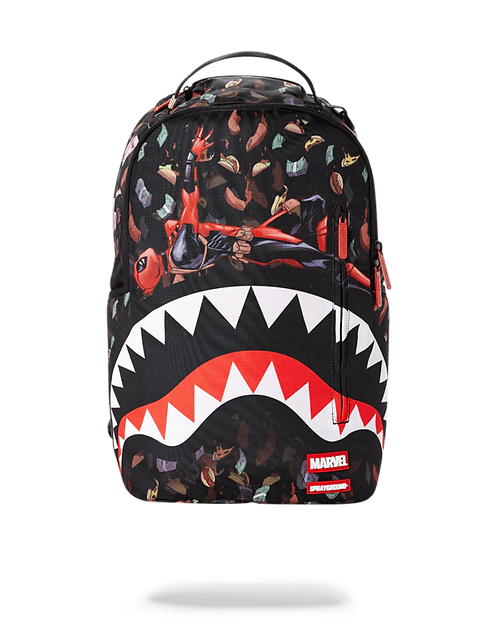 Sprayground Deadpool Taco$ Rain Backpack