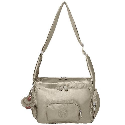 Kipling Erica Metallic Handbag