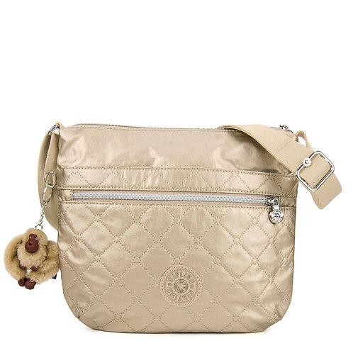 Kipling Arto Quilted Metallic Crossbody Bag