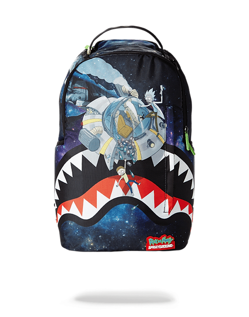 Sprayground Rick & Morty Crash Backpack