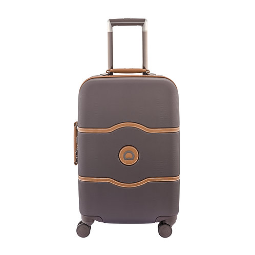 Delsey Chatelet Hard + Carry-On Spinner Luggage