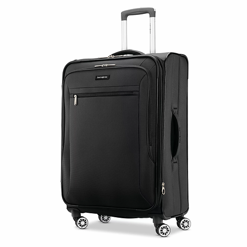 Samsonite Ascella X Large Checked Expandable Luggage with Dual Spinner