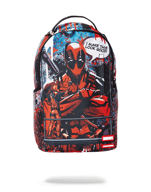 Sprayground Deadpool Painting Deadpool Backpack
