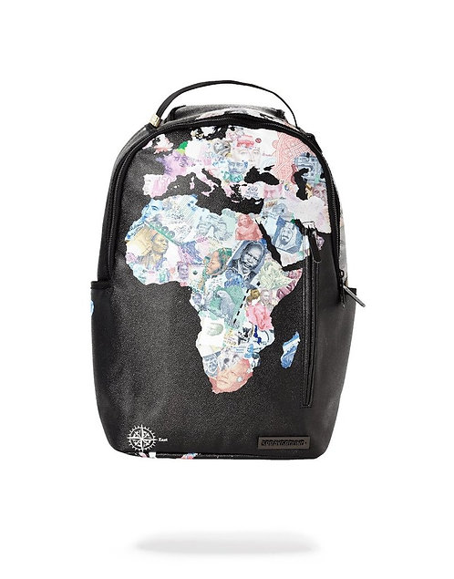 Sprayground Dave East x Africurrency Backpack