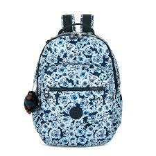 "Kipling Seoul Go Large Printed Laptop 15"" Backpack"