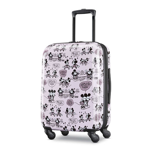 "American Tourister Disney Mickey & Minnie Romance 20"" Spinner"