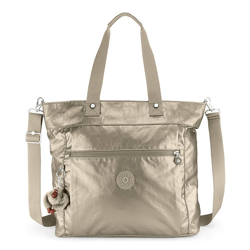 "Kipling Lizzie Metallic 15"" Laptop Tote Bag"
