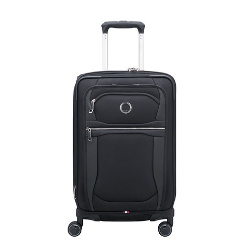 """Delsey Executive Collection 21"""" Carry-on Exp. Spinner Upright"""