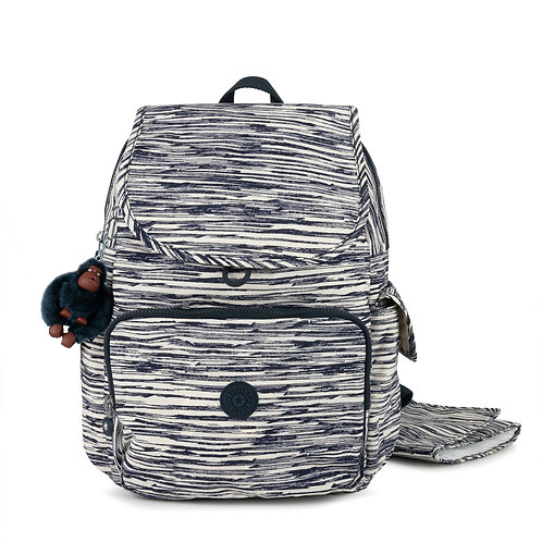 Kipling Zax Printed Backpack Diaper Bag