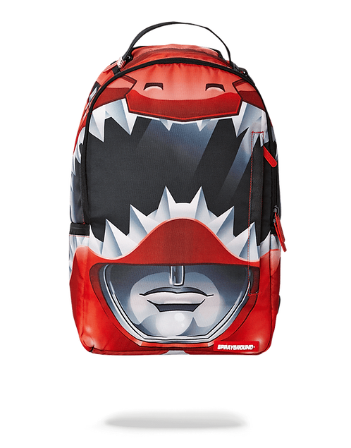 Sprayground Red Ranger Helmet Backpack