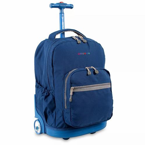 "J World 18"" Sunrise Rolling Backpack"