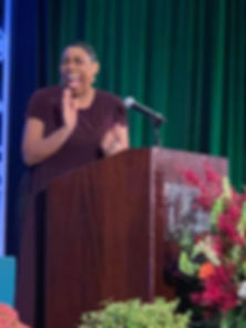 Me speaking at SW Washington Community F