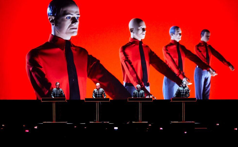 Kraftwerk photo by Peter Boettcher