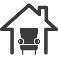 home-interior-symbol-of-a-single-sofa-in