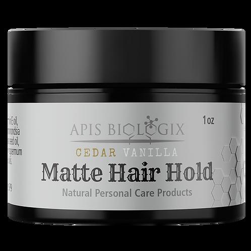 Cedar Vanilla Matte Hair Hold