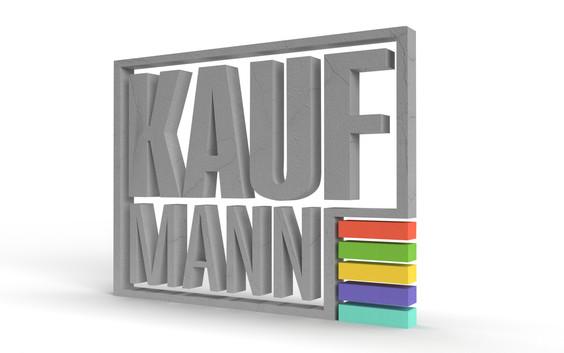 Kaufmann Logo 3D