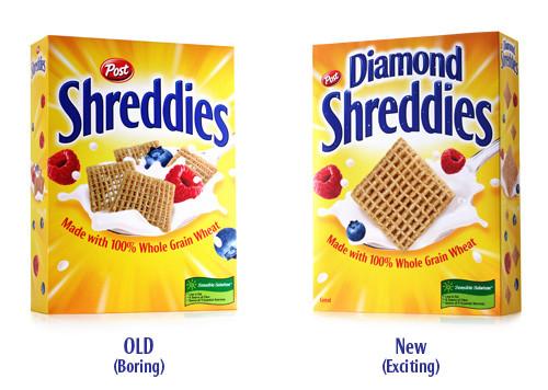 Shreddies ambalaj