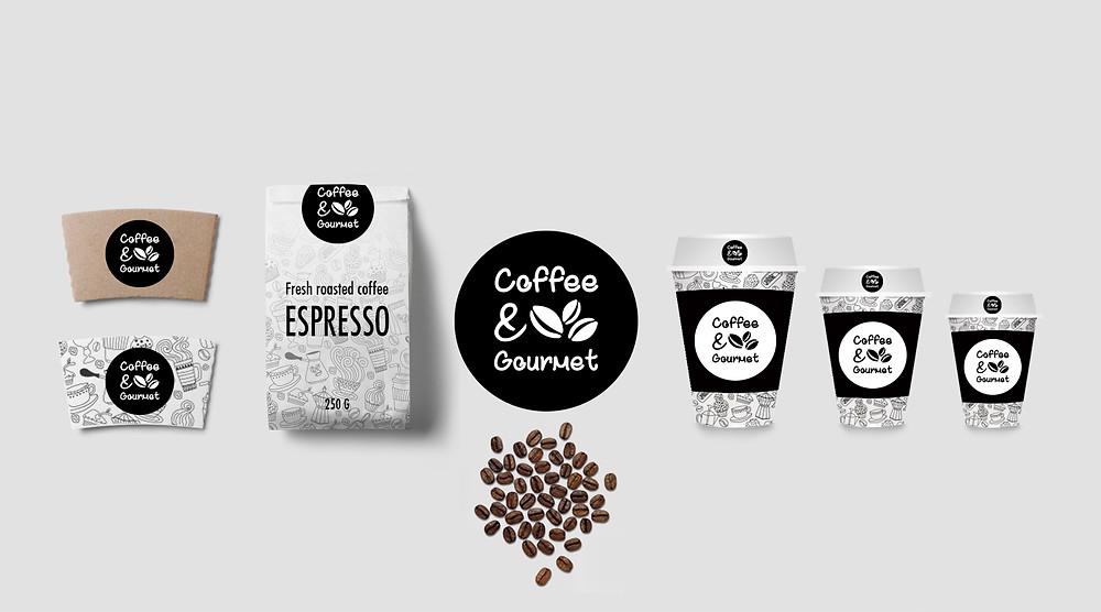 Coffee and Gourmet Ambalaj Tasarımı