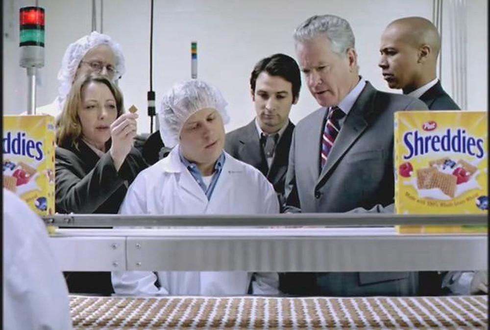 Shreddies reklam