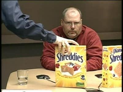 Shreddies deney