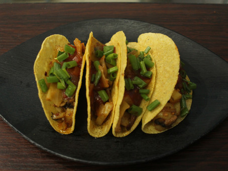 Toss the Bell. We Just Want Good Tacos (Kimchi Tacos Recipe)
