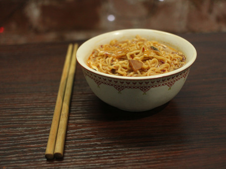 Yippee! Not Sunfeast noodles! (Kimchi Noodles recipe)