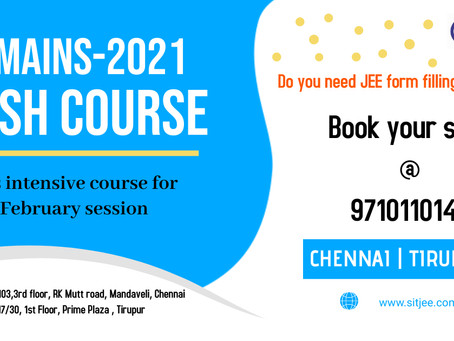Are you ready for JEE mains Crash Course??