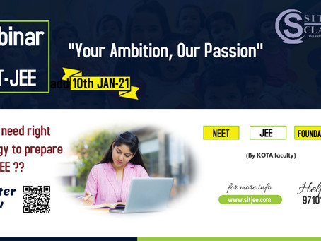 Seminar on NEET-JEE preparation for class X