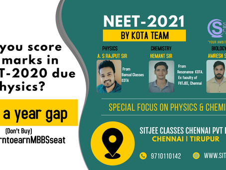 Take a year gap for NEET-2021
