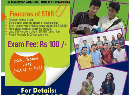 SITJEE CLASSES ANNOUNCES STAR-2019