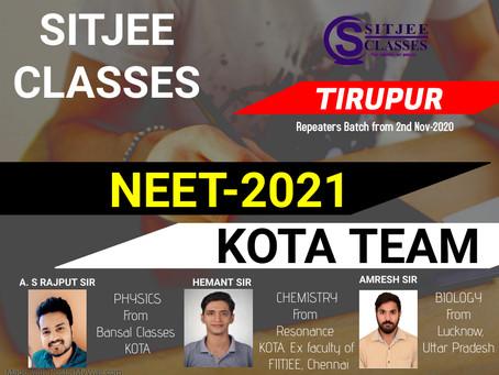 NEET Repeaters batch in Tirupur