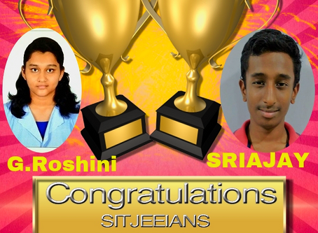 Congratulations JEE Mains Qualified students