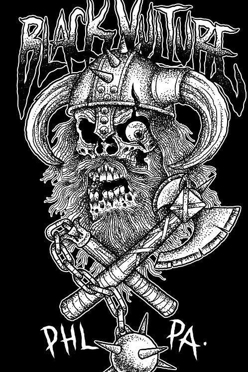 Black Vulture Viking T-Shirt