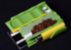 Distri Rolls étui distributeur de feuilles a rouler regular , filtres et briquet