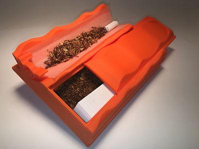 Distri Rolls étui distributeur de feuilles à rouler slm et un grand compartiment de rangement