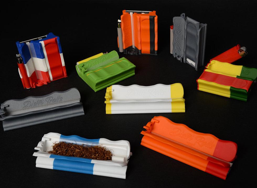 Distri Rolls Regular etui distributeur feuilles à rouer,filtres et briquet