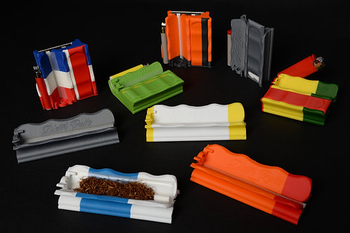 Pack de 24 Distri Rolls 12 Regular filtres et 12 Slim coloris variés