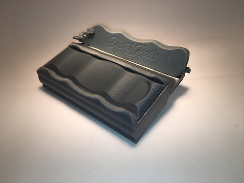 Distri Rolls Slim box, gris silver
