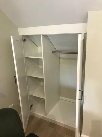 White Melamine 5 Piece Shaker Doors