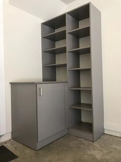 Garage - Brushed Aluminum Slab Door