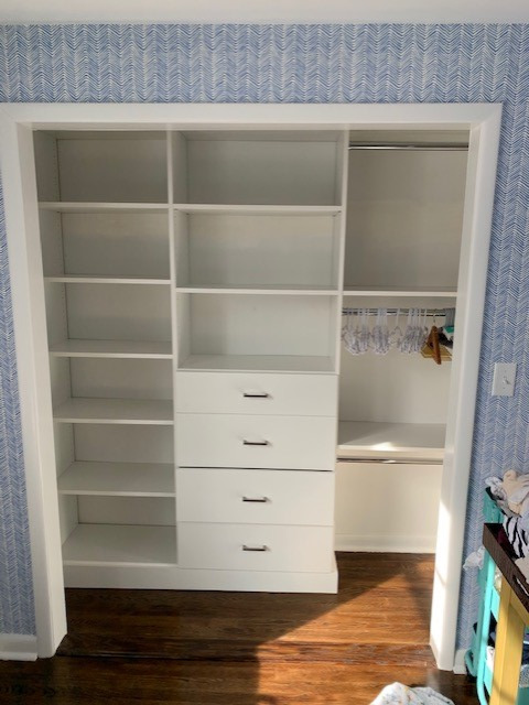 Boy's Closet - White - Slab