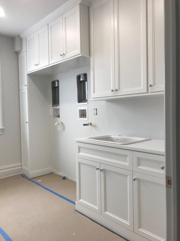Builder Spec Home - Laundry  Room - Whit
