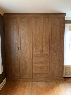 Tea for Two-Wardrobe Built In Cabinets