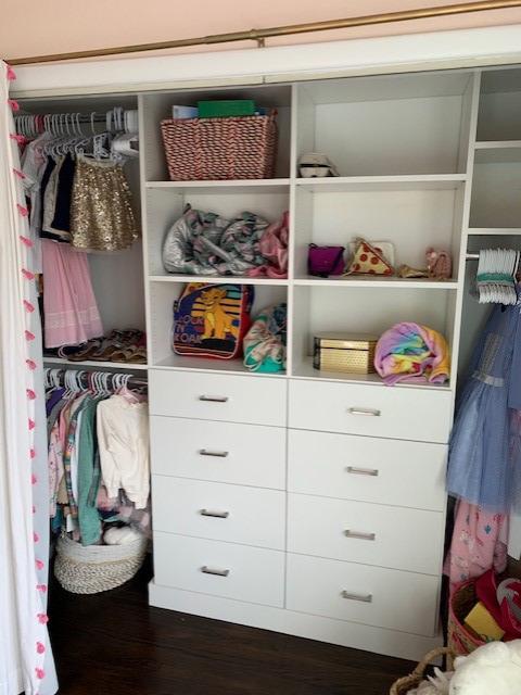 Daughter's Closet - White - Slab