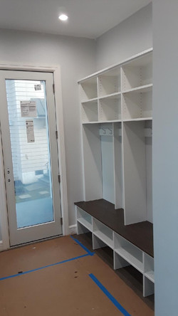 Mudroom -White with Sunday Brunch