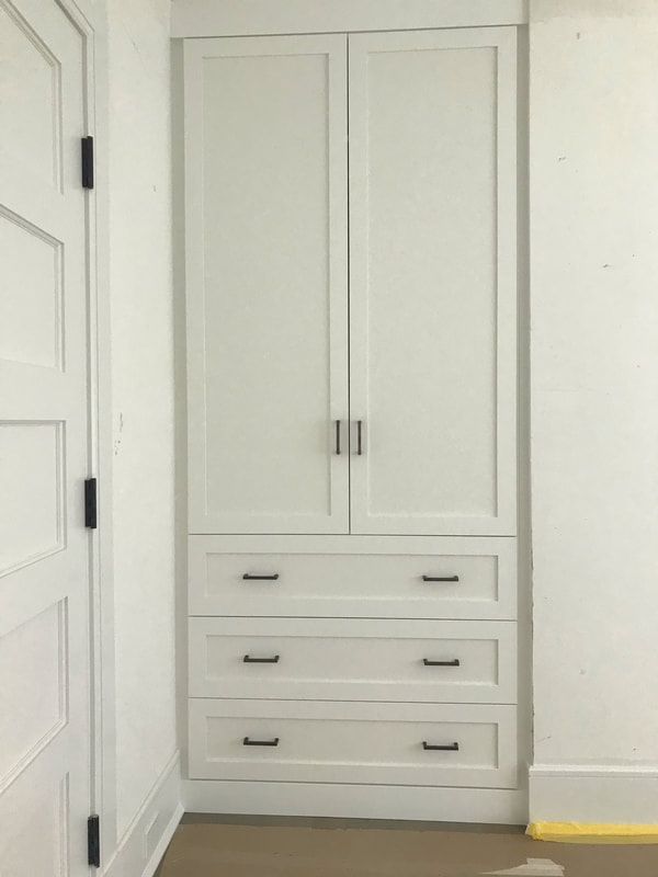 Wardrobe Cabinet - Shaker