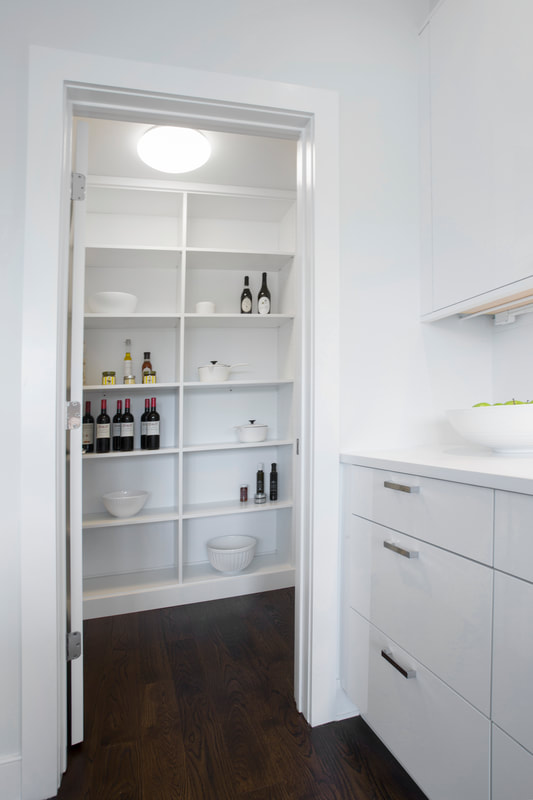 Pantry White Melamine