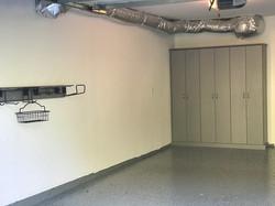 Brushed Aluminum Melamine Garage Sla